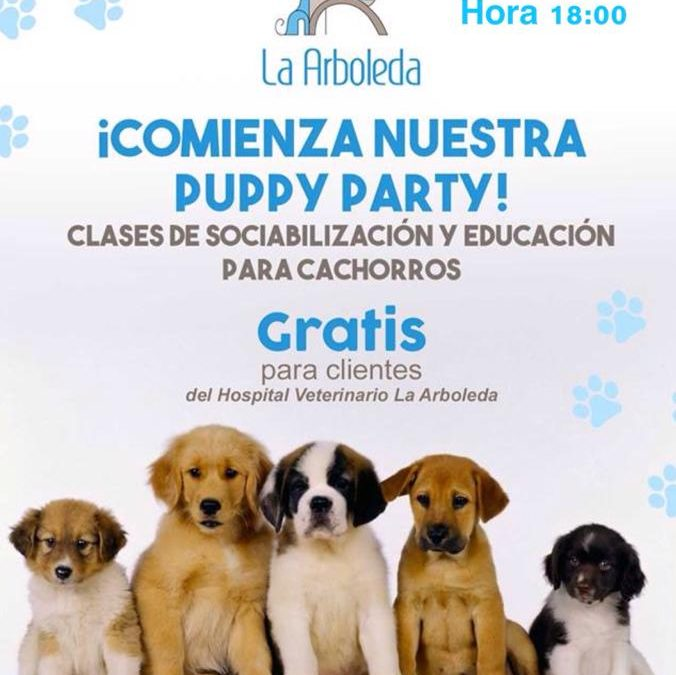 ¡¡¡Apúntate a nuestra Puppy Party!!!