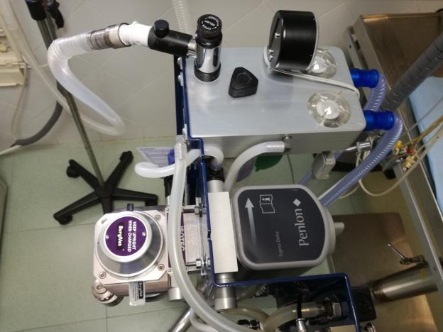 Sistemas de anestesia inhalatoria Isofluorano y Sevofluorano